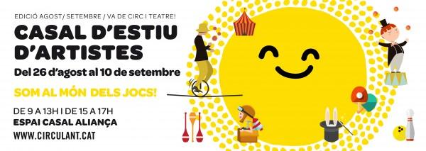 Casal Estiu d'Artistes · Va de Circ i Teatre
