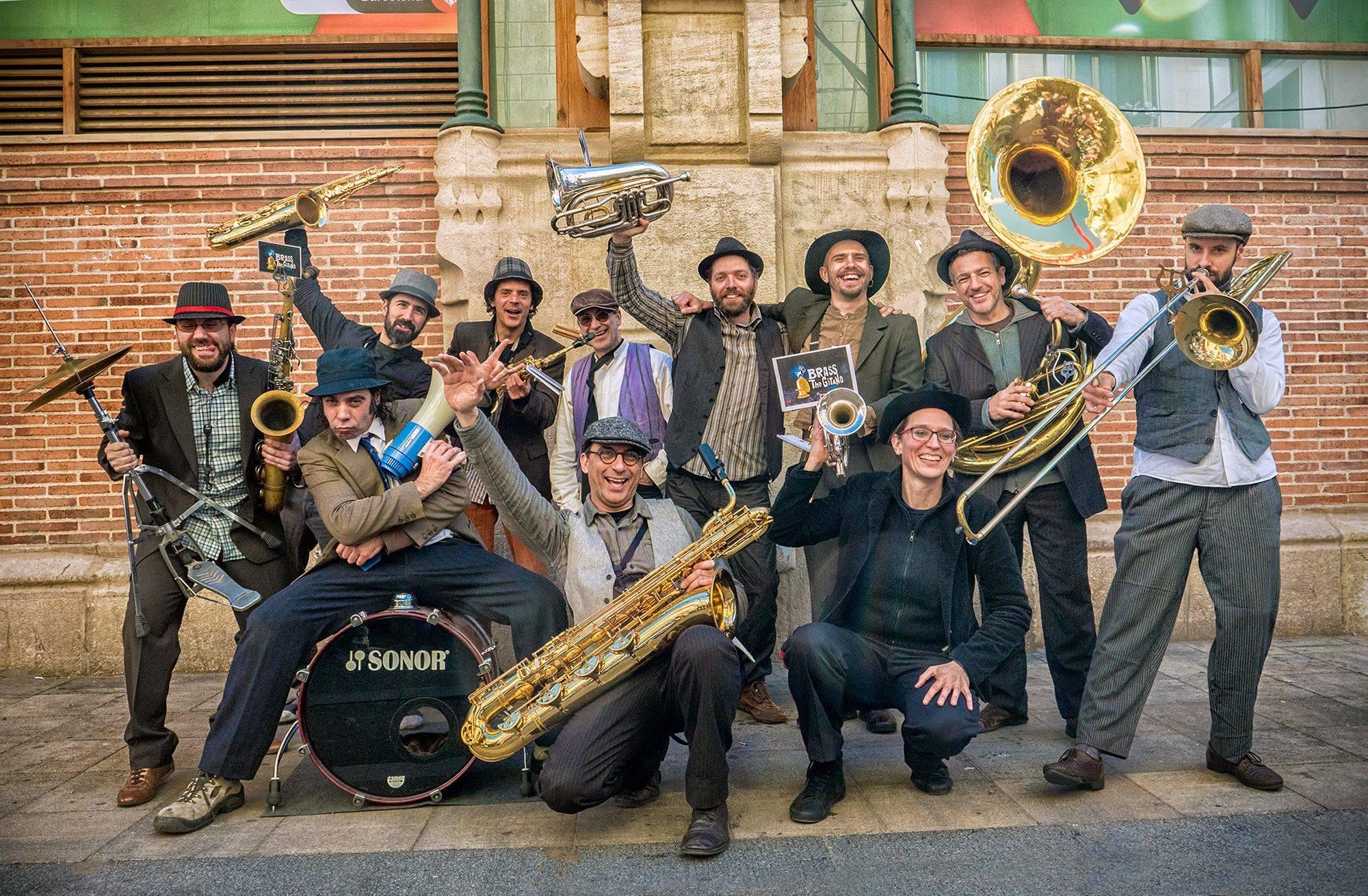 Resultado de imagen de brass de gitano band